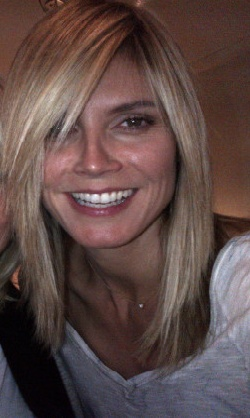 Heidi Klum's haircut is exactly the one I've been wanting!! I need to bring this to my next appointment.