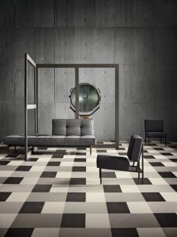 sustainable tile collection comprised of 44 beautiful colors and three coordinated sizes designed to mix and match for endless design possibilities - Vct Pattern Ideas