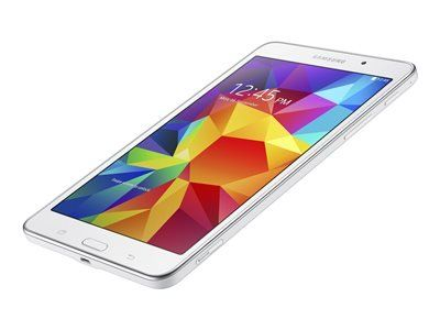 Buy Samsung SM-T237PZWASPR Galaxy Tab 4 SM-T237P 16 GB Tablet - 7 inch - Wireless LAN - Sprint - 4G - 1.20 GHz - White - 1.50 GB RAM - Android 4.4.2 KitKat - LTE, HSPA+ - Slate - 1280 x 800 - Bluetooth NEW for 344.87 USD | Reusell