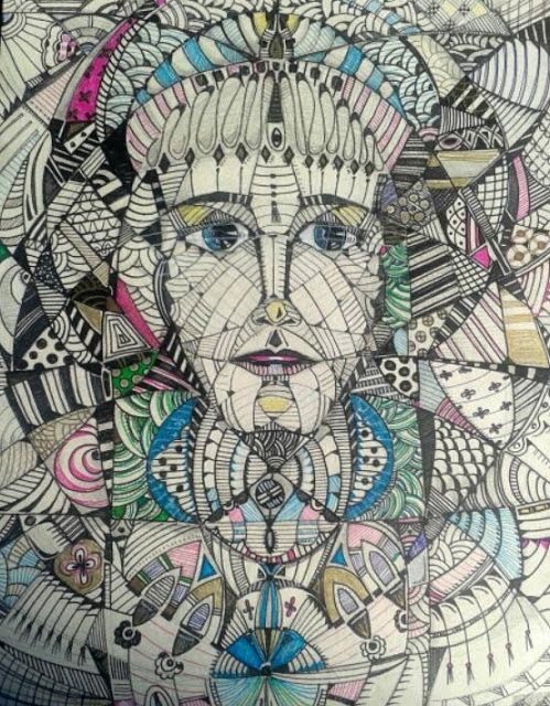Art Gallery /Calliope Iconomacou: DOODLING WORLD 2015