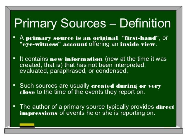 Primary Source And Secondary Paraphrasing From Sources Paraphrase