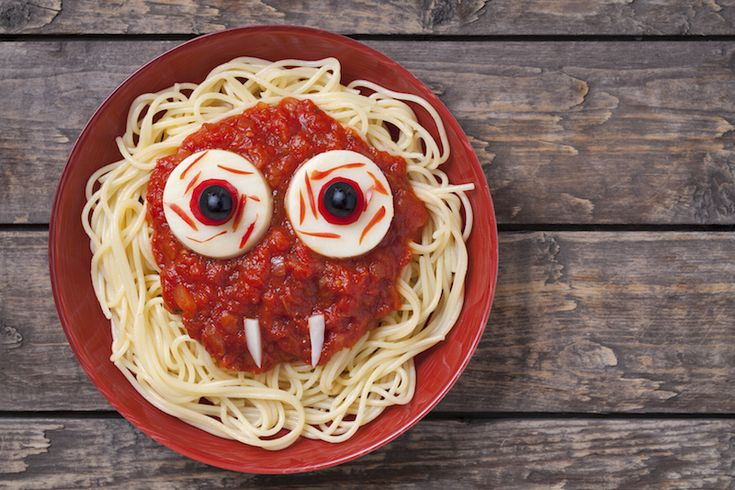 Spaghettis d'Halloween