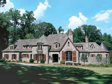 Home Plans HOMEPW16661 - 8,573 Square Feet, 6 Bedroom 6 Bathroom Chateauesque Home with 4 Garage Bays