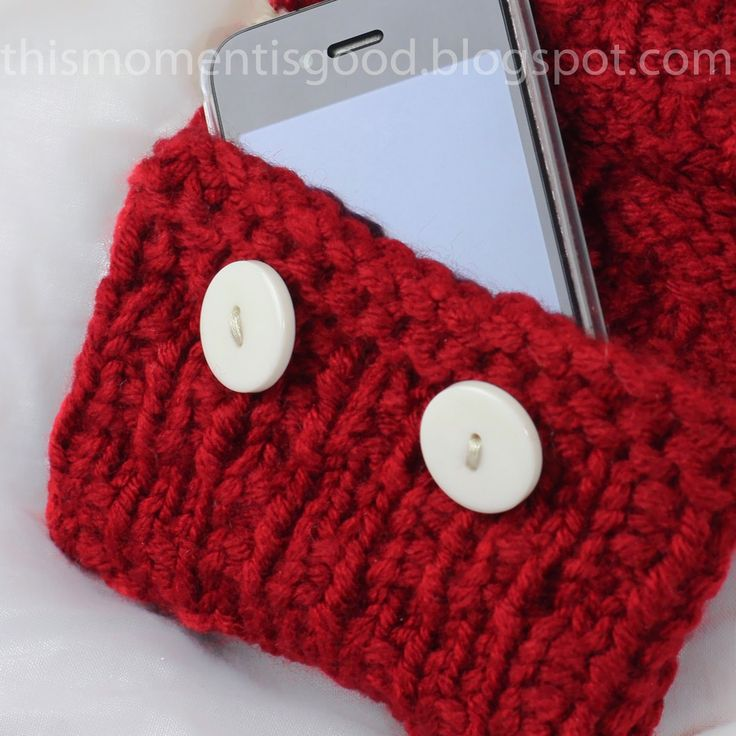 FREE LOOM KNIT IPHONE SLEEVE PATTERN... loom knitting stitches/tips ...