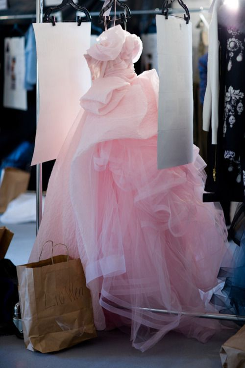 Oscar de la Renta FW 2012: Princesses Dresses, Wedding Dressses, Pink Wedding Dresses, Cotton Candy, Pink Dresses, Oscars, Income, Liuwen, Pink Gowns