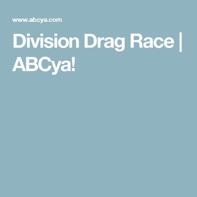 Division Drag Race   ABCya!