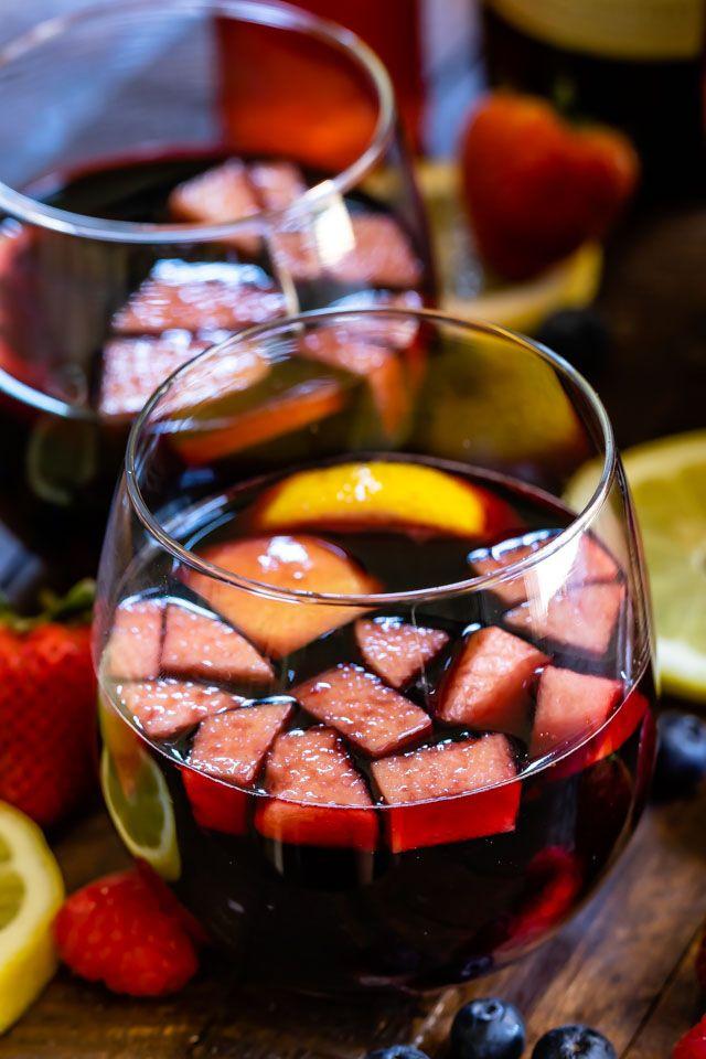 The Best Red Wine Sangria Recipe Crazy For Crust Recipe Red Sangria Recipes Sangria Recipes Red Wine Sangria
