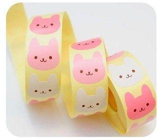 ❤Kawaii Love❤ ~Kawaii Rabbit Stickers.