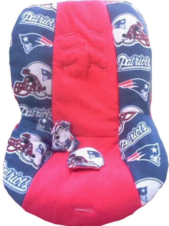 NE Patriots Theme Inspired Car Seat Cover