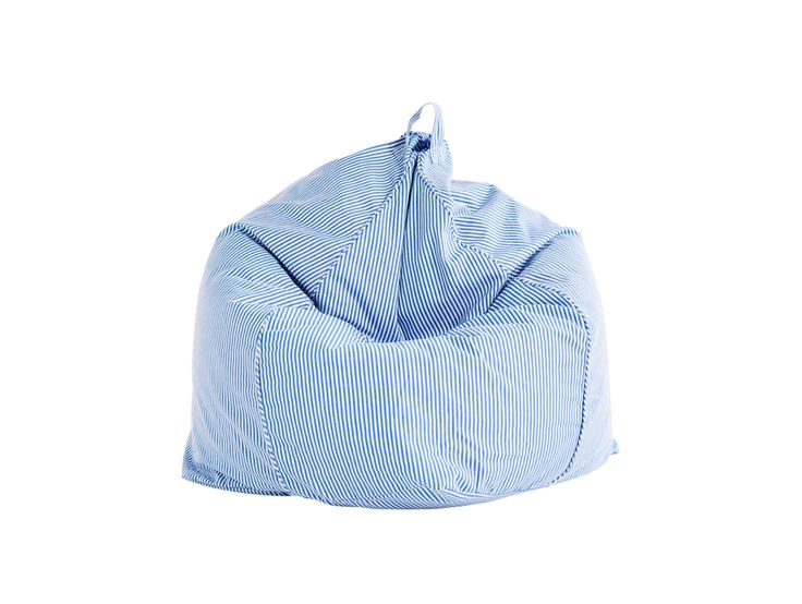 Pinstripe Blue/White Bean Bag Cover (Pre-order for mid November delivery) | Sack Me