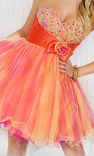 Baby doll Strapless Dress