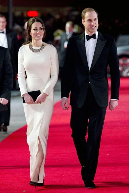 Kate Middleton and Prince Wiliam at the Premiere of Mandela: A Long Walk To Freedom