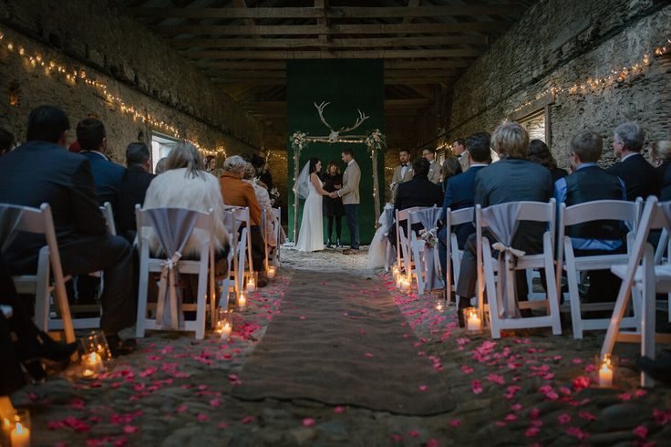 Thulby Domain woolshed wedding venue near Queenstown New Zealand.
