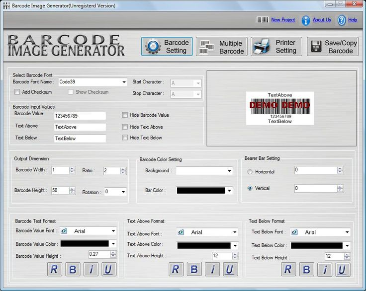 Barcode Creation Software is good tool for development of