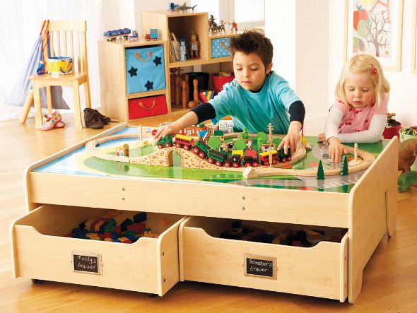 I just love this playtable with built in trundle drawers from GLTC.  sc 1 st  Loris Decoration & childrens storage table u2013 Loris Decoration