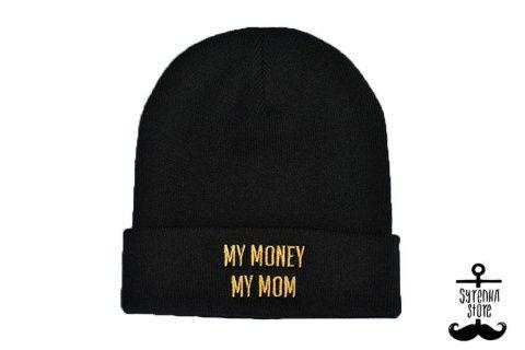 My money my mom beanie www.syrenkastore.com