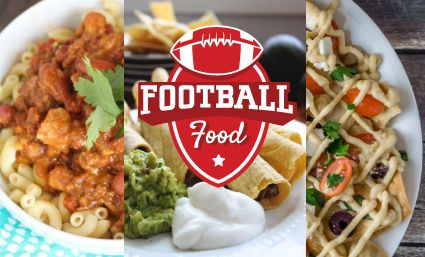Stock up with some of our favorite football food recipes like hearty chili, nachos, buffalo dip, taquitos, salsa and more with this free cookbook.