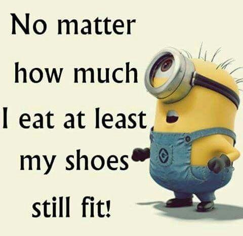 Shoes still fit!.