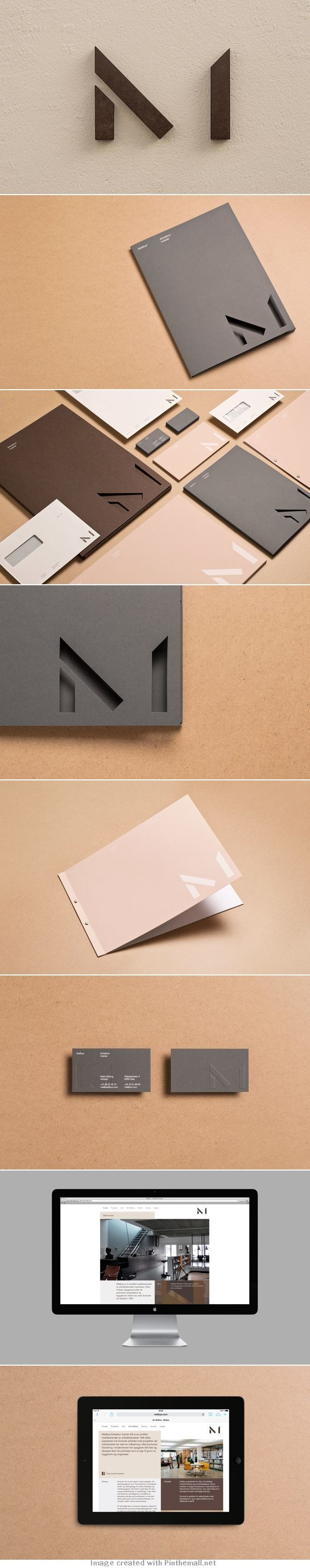 Mellbye Visual Identity #spaincreative #identity