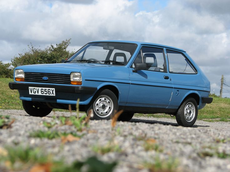 There is something really cool about these...1976 Ford Fiesta MK1