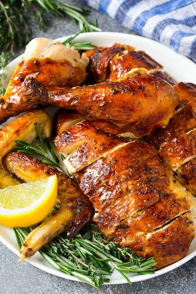 Roasted Chicken Recipe Whole Roasted Chicken Roast Chicken Chicken Dinner Lowcarb Whole Chicken Recipes Oven Baked Whole Chicken Recipes Roasted Chicken