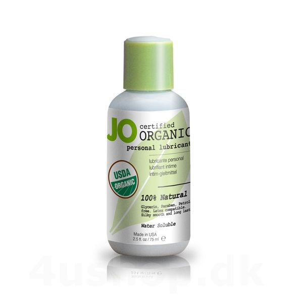 JO Organic glidecreme - 75 ml - USDA Certified Organic #økologi #økologisk #økologiskglidecreme #JO #BIOglide #Shunga #glidecreme #USDAcertifed #CertificationBiologique #NaturalProductStandard @4ushop