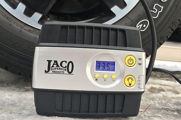 JACO SmartPro Digital Tire Inflator Pump - Premium 12V Portable Air Compressor