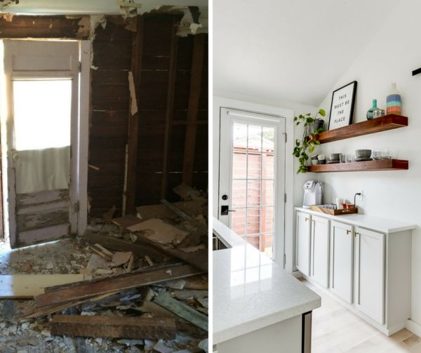 Before and After: Tiny House Backyard Studio Transformation