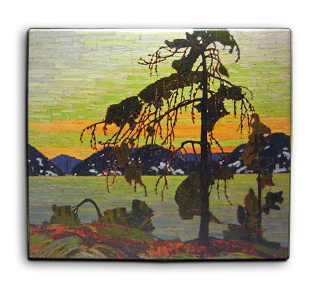 Le pin (Transfert sur toile) Prix: 23.95 $|| The Jack Pine (Canvas Transfer) Price: $23.95