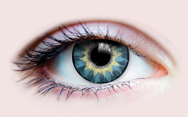 Delightful Sapphire – Primal Contact Lenses