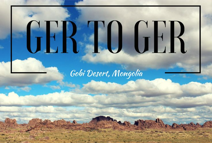 Considering Ger-to-Ger as a travel option for Mongolia? Read this and think twice.