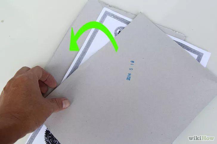 Imagem intitulada Flatten Crumpled Paper Step 2