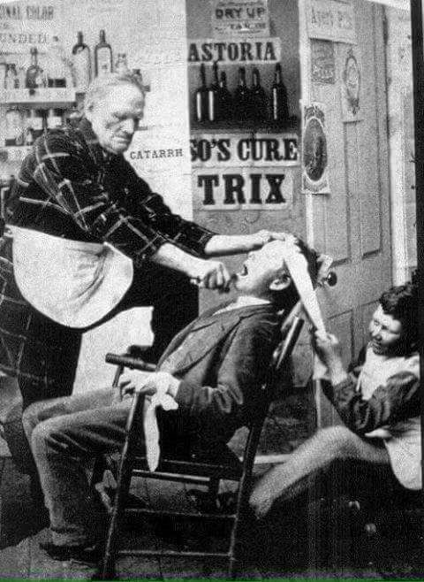 Old Fashion Dentistry Glimpses Of History Rare