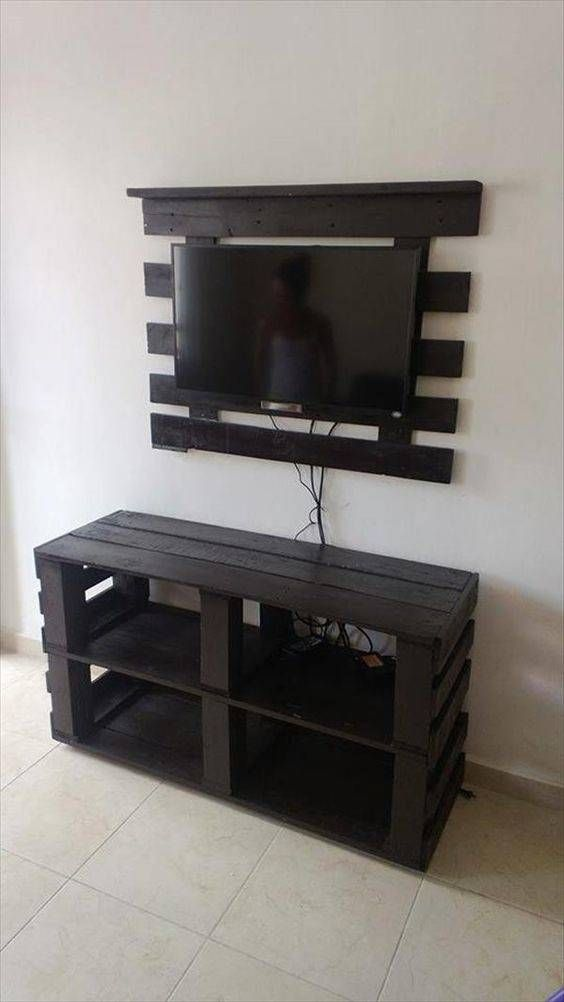 types wood pallets furniture. a specified type of table to hold the tv and media items we have resurrected diy pallet console stand out rustic skids types wood pallets furniture