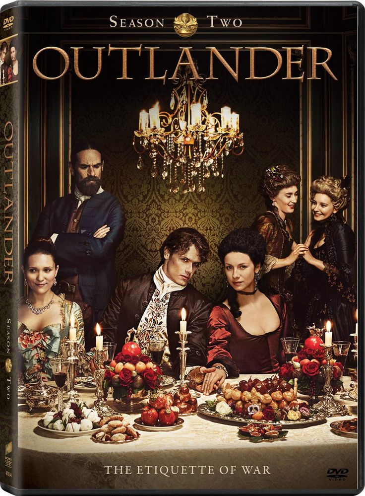 This release features the complete second season of the Starz historical, time traveling adventure series Outlander. Season two finds Claire (Caitriona Balfe) and Jamie (Sam Heughan) in France attempt