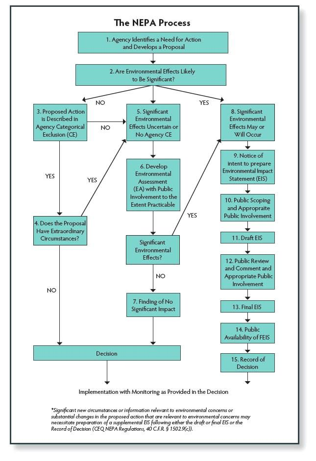 Nepa Process Flowchart