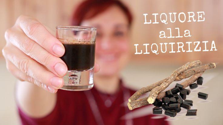 Liquore alla Liquirizia di Benedetta, fatto in casa.
