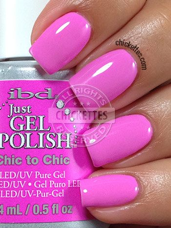 Chickettes.com - ibd Just Gel Polish Social Lights Collection - Chic to Chic
