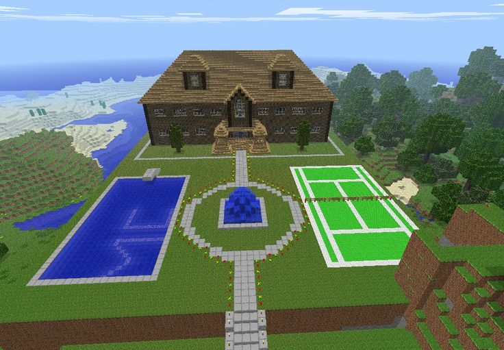 Cool projects to build in minecraft woodworking projects for Things to know when building a house