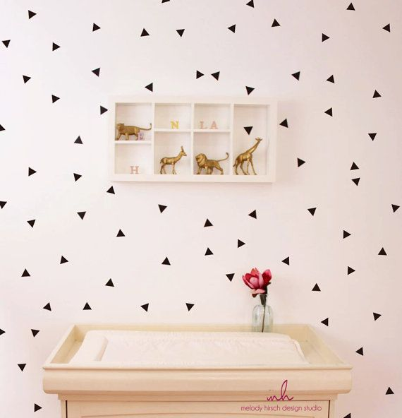 Bedroom Paint Colour Ideas Bedroom Blinds Ideas Bedroom Ideas Industrial Baby Boy Bedroom Wall Stickers: Best 25+ Triangle Wall Ideas On Pinterest