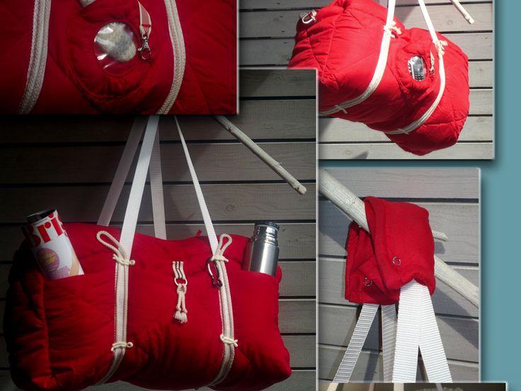 Die Tasche zum Kuscheln und Knuddeln: SnuggleUp hat Wiebke Wilhelm ihre Variation unserer #machdeinding2016-Tasche genannt.