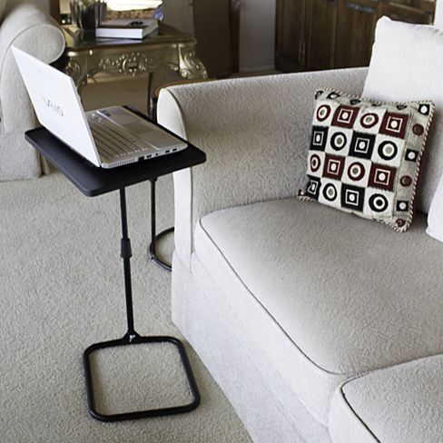 Adjustable Swivel Laptop Bedside Table