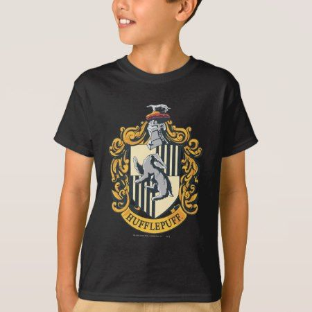 Hufflepuff Crest T-Shirt - tap to personalize and get yours
