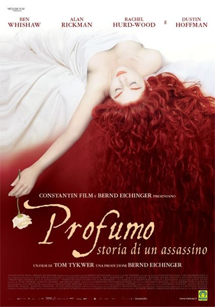 Profumo - Storia di un assassino 2006   Un film di Tom Tykwer. Con Dustin Hoffman, Ben Whishaw, Alan Rickman, Rachel Hurd-Wood, Corinna Harfouch.
