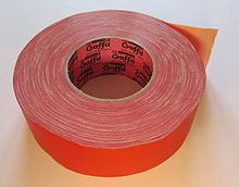 Gaffer tape - Wikipedia, the free encyclopedia for the shoes