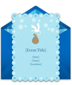 online invitations from free baby shower