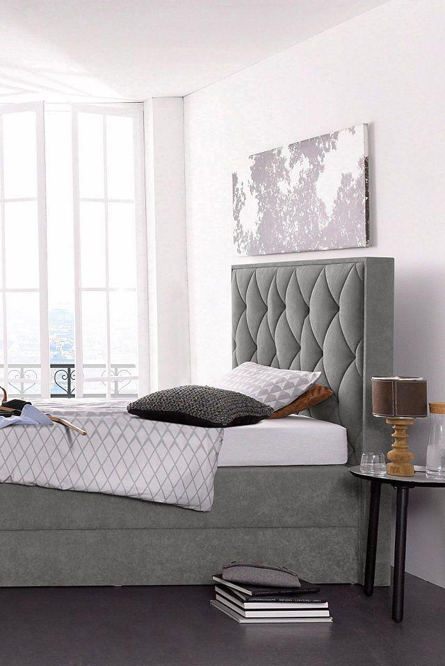 732b6246a3 Westfalia Polsterbetten Boxspringbett Was gehört auf jeden Fall ins  Schlafzimmer? Natürlich das Bett! Doch erst ein Schrank, egal ob großer ...
