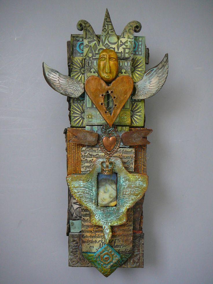 Laurie Mika-ceramic totem