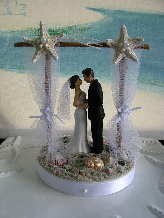 Pergola Beach Wedding Cake Topper Bride And Groom On A Beach Cake Topper Beach Wedding Cake Toppers Beach Wedding Groom Beach Wedding Cake