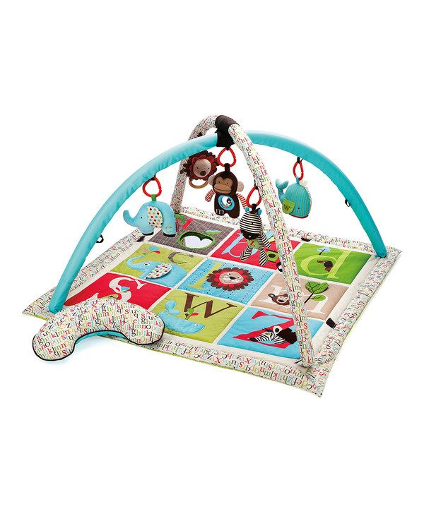 Look at this Skip Hop Blue Alphabet Zoo Activity Gym on #zulily today!
